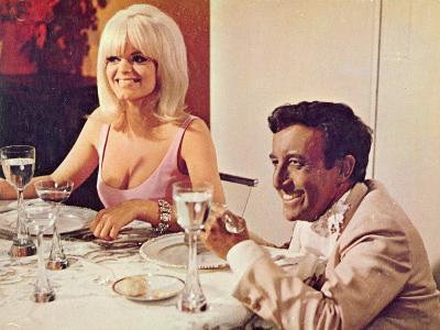 The Party, Carol Wayne, Peter Sellers, 1968--Photo