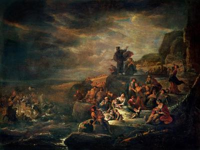 The Passage of the Red Sea-Jakob Willemsz de Wet-Giclee Print