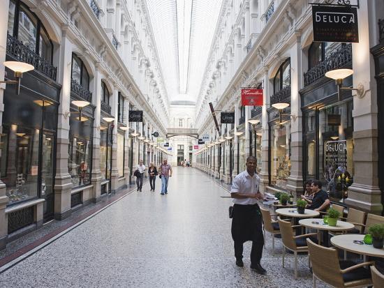 The Passage Shopping Arcade, Den Haag (The Hague), Netherlands, Europe  Photographic Print by Christian Kober | Art com