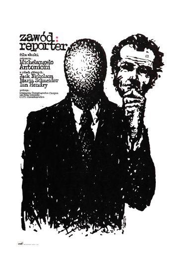 The Passenger, (aka Professione), Polish Poster Art, 1975--Giclee Print