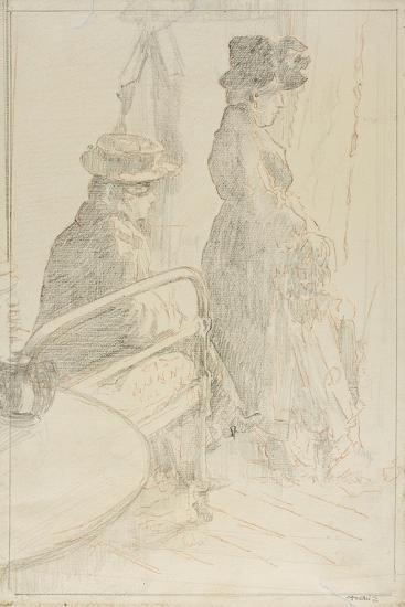 The Passing Funeral, 1912-13-Walter Richard Sickert-Giclee Print