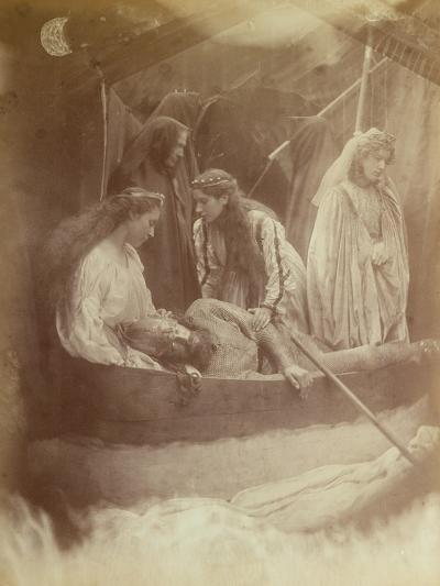 The Passing of King Arthur, Illustration from 'Idylls of the King' by Alfred Tennyson-Julia Margaret Cameron-Giclee Print