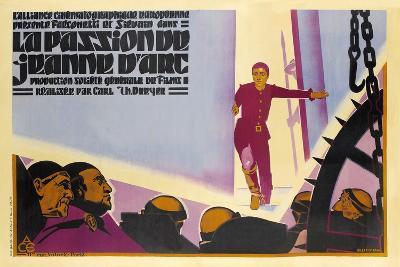 The Passion of Joan of Arc, 1928 (La Passion De Jeanne D'Arc)--Giclee Print