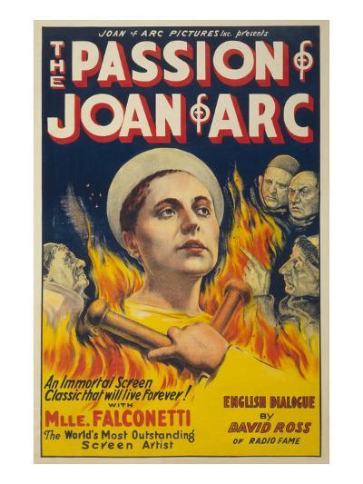 The Passion of Joan of Arc- Eloquent Press-Art Print