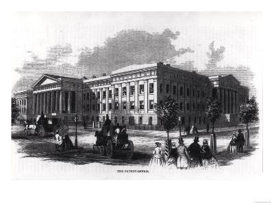 "The Patent Office, from ""Harper's New Monthly Magazine,"" 1859--Giclee Print"