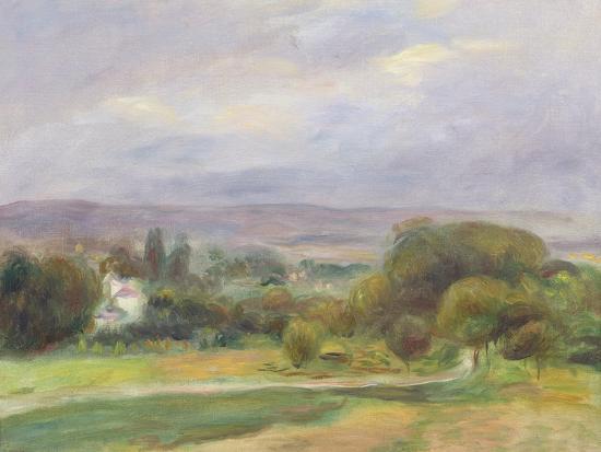 The Path, 1895-Pierre-Auguste Renoir-Giclee Print
