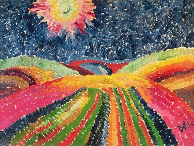 The Path, 1912-Wilhelm Morgner-Giclee Print