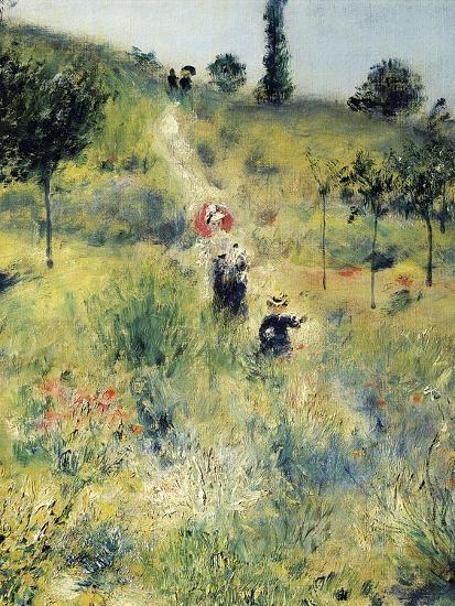 The Path Through the Long Grass-Pierre-Auguste Renoir-Premium Giclee Print