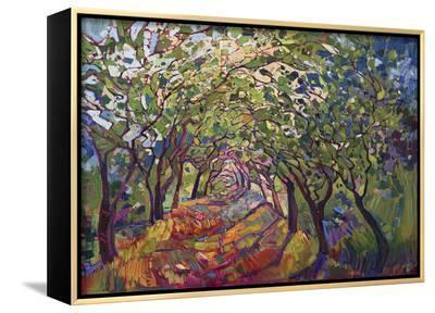The Path-Erin Hanson-Framed Canvas Print