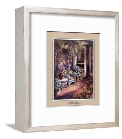 The Patio-George Bjorkland-Framed Art Print