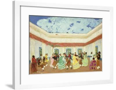 The Patio-Pedro Figari-Framed Giclee Print
