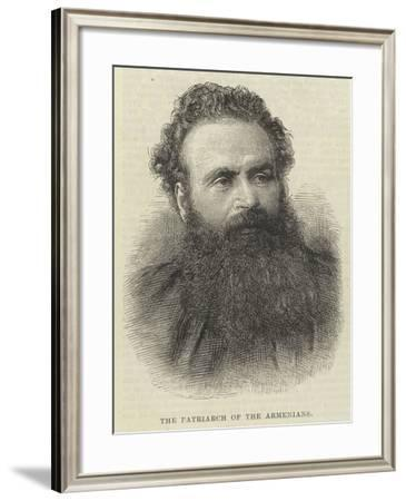 The Patriarch of the Armenians--Framed Giclee Print