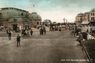 The Pavilion on the Pier, Worthing, West Sussex, Early 20th Century--Giclee Print
