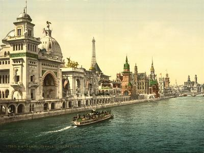 The Pavilions of the Nations, Ii, Exposition Universal, Paris, France, C.1890-1900--Giclee Print