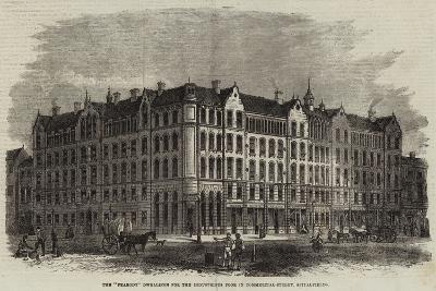 The Peabody Dwellings for the Industrious Poor in Commercial-Street, Spitalfields--Giclee Print