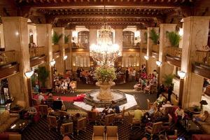 The Peabody Hotel in Memphis Tennessee