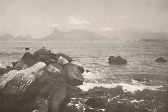 'The peaceful bay of Rio', 1914-Unknown-Photographic Print
