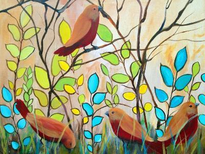 The Peaceful Gathering-Ruth Palmer-Art Print