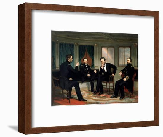 The Peacemakers-George P^A^ Healy-Framed Premium Giclee Print