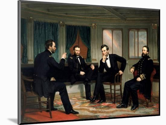 The Peacemakers-George P^A^ Healy-Mounted Premium Giclee Print
