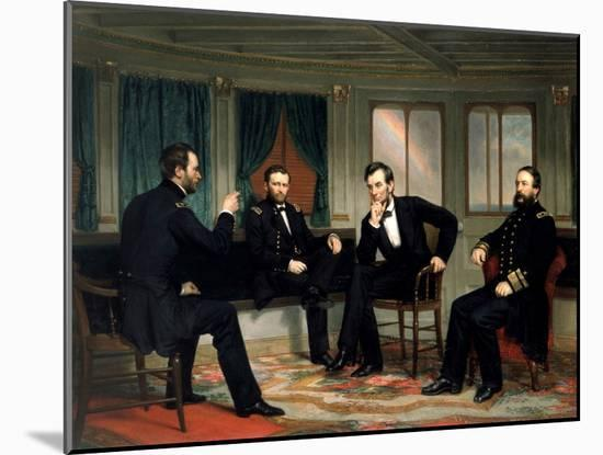 The Peacemakers-George P^A^ Healy-Mounted Giclee Print