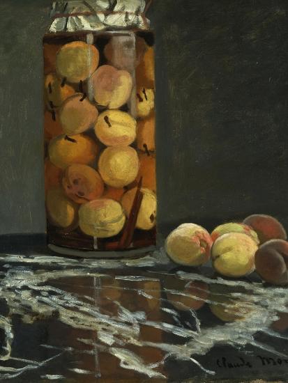 The Peach Glass, 1866-Claude Monet-Giclee Print