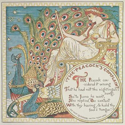 The Peacock's Complaint, 1887--Giclee Print