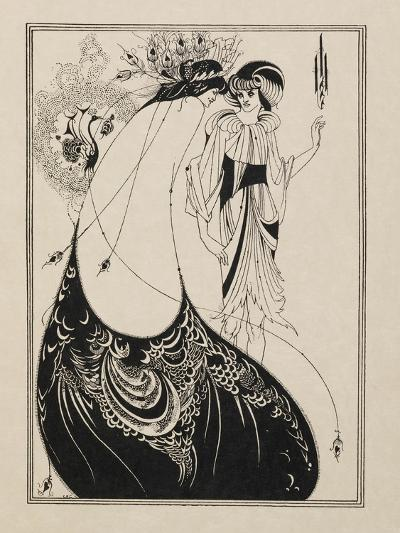 The Peacock Skirt. From Salome--Giclee Print