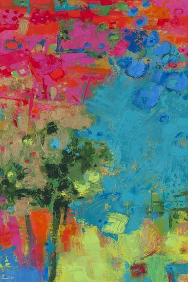The Peacock-Janet Bothne-Art Print
