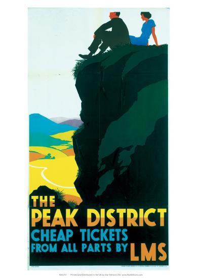 The Peak District, LMS, c.1935-Ralph Mott-Giclee Print