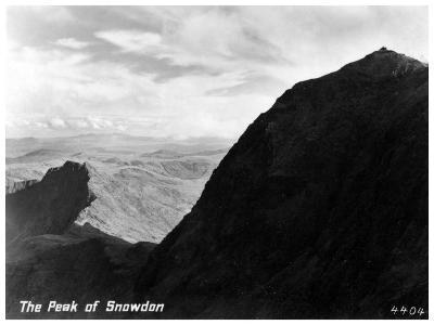 The Peak of Snowdon, Wales--Giclee Print