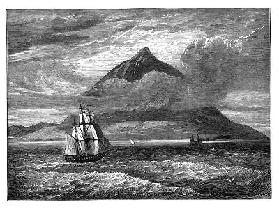 The Peak of Tenerife, Canary Islands, C1890--Giclee Print