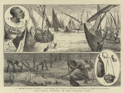The Pearl Fishery in the Persian Gulf--Giclee Print