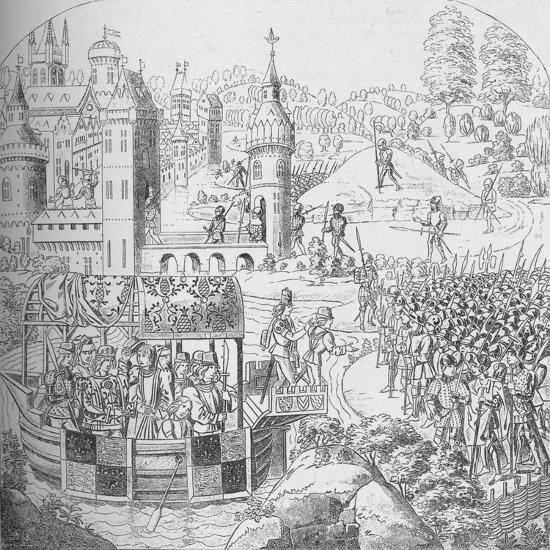 The Peasants' Revolt of 1381, 1804 (1906)-John Harris the Elder-Giclee Print