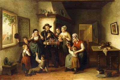 The Peddler's Wares-J.J.M. Damschroeder-Giclee Print