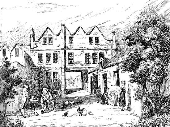 'The Pelican Inn', 1907-Unknown-Giclee Print