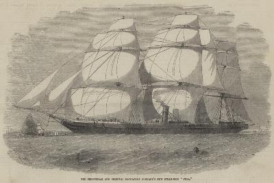 The Peninsular and Oriental Navigation Company's New Steam-Ship Pera-Edwin Weedon-Giclee Print