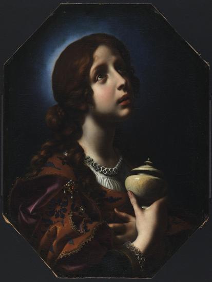 The Penitent Magdalene, C.1650-51-Carlo Dolci-Giclee Print