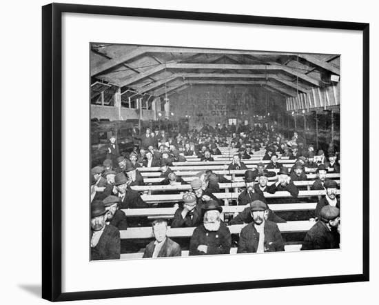 The 'Penny Sit-Up', C.1895--Framed Photographic Print