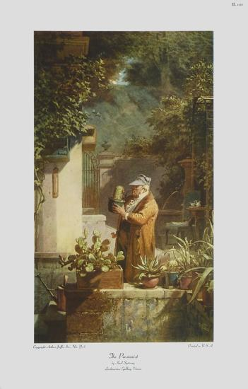 The Pensioner (large)-Carl Spitzweg-Collectable Print