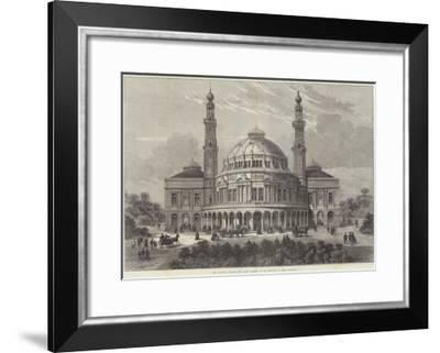 The People's Palace for East London, to Be Erected in Mile End-Road-Frank Watkins-Framed Giclee Print