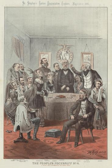The People's Pecksniff-Tom Merry-Giclee Print