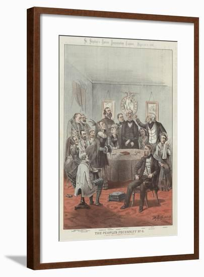 The People's Pecksniff-Tom Merry-Framed Giclee Print