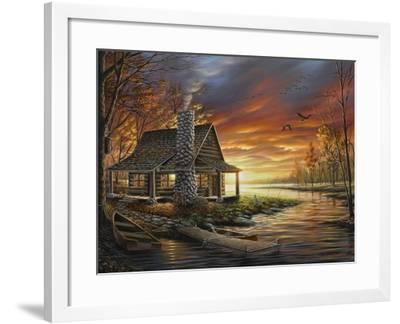 The Perfect Spot-Chuck Black-Framed Giclee Print