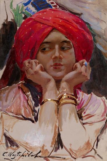 The Persian Princess-Konstantin Alexandrovich Veshchilov-Giclee Print