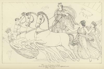 The Persians-John Flaxman-Giclee Print