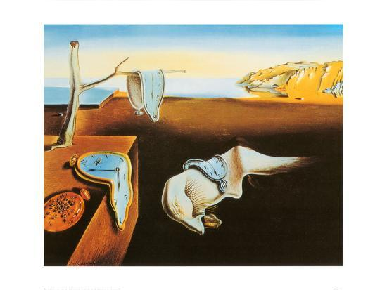 The Persistence Of Memory C1931 Art Print By Salvador Dal The