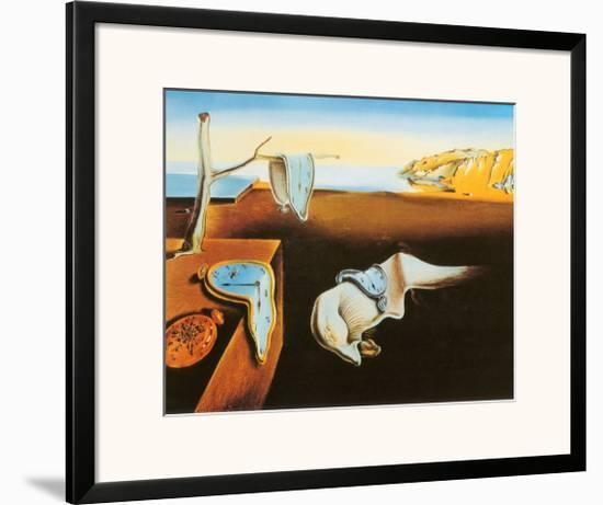 The Persistence of Memory, c.1931-Salvador Dalí-Framed Art Print