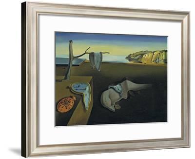 The Persistence of Memory-Salvador Dalí-Framed Art Print