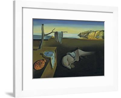 The Persistence of Memory-Salvador Dal?-Framed Art Print